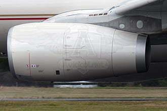 Motores Rolls-Royce Trent 700 en un A330-200F