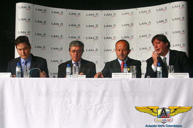 Fue presentada oficialmente LAN Colombia   Aviacol.net El Portal de la Aviación Colombiana