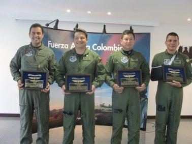Reconocimiento a tripulación del Bell 412 accidentado