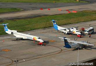 Último reporte Aerocivil: Satena la aerolínea más cumplida del país   Aviacol.net El Portal de la Aviación Colombiana