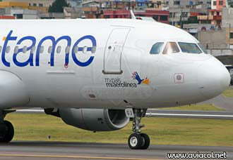 Tame volará Quito y Bogotá en junio de 2012 | Aviacol.net El Portal de la Aviación Colombiana