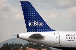 Es la segunda ciudad que sirve jetBlue desde Bogotá, en adición a Orlando
