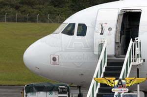 Primer A320 para VivaColombia