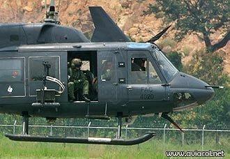 Se accidenta helicóptero Bell 212 de la FAC | Aviacol.net El Portal de la Aviación Colombiana