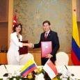 Colombia y Singapur firman acuerdo aeronáutico | Aviacol.net El Portal de la Aviación Colombiana