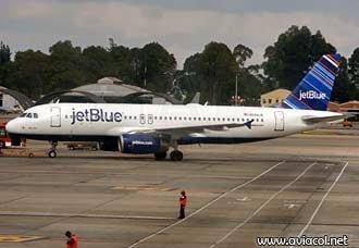 JetBlue inicia vuelos entre Fort Lauderdale y Bogotá | Aviacol.net El Portal de la Aviación Colombiana