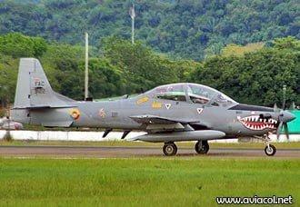 Avión A-29B Súper Tucano de la FAC, cae a tierra en el Cauca | Aviacol.net El Portal de la Aviación Colombiana