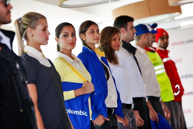 Uniformes seleccionados VivaColombia