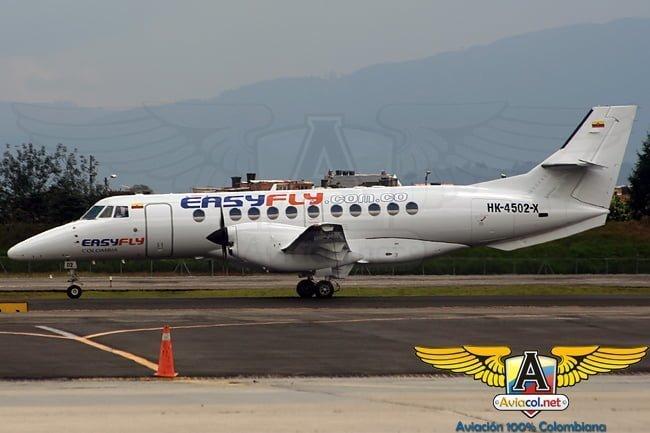 British Aerospace Jetstream 41 perteneciente a Easyfly.