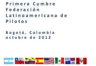 Declaración conjunta, Primera Cumbre Latinoamericana de Pilotos Flap - Bogotá | Aviacol.net El Portal de la Aviación Colombiana