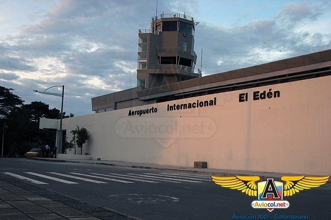 Exterior del Aeropuerto