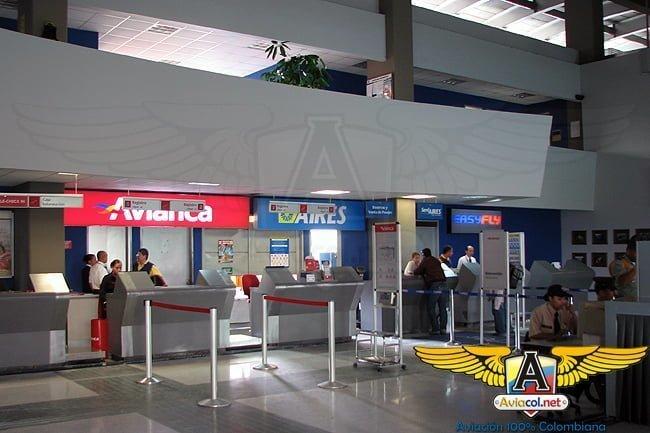 Interior del Aeropuerto hacia 2008