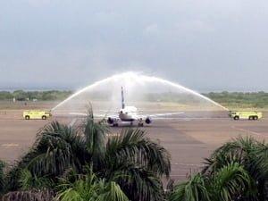 El vuelo se llevará a cabo 3 veces por semana inicialmente.