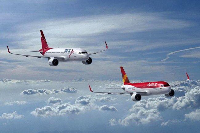 Avianca y TACA transportaron más de 19 millones de pasajeros   Aviacol.net El Portal de la Aviación Colombiana