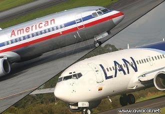 American Airlines firma acuerdo de código compartido con LAN Colombia | Aviacol.net El Portal de la Aviación Colombiana