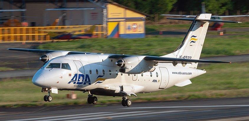 Dornier 328 de Aerolínea de Antioquia (ADA).