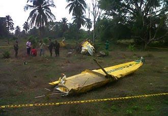 Accidente de cessna A188B en el Magdalena   Aviacol.net El Portal de la Aviación Colombiana