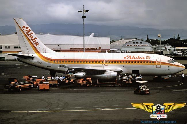 El último vuelo del Boeing 737-200, HK-4328, de Aerosucre | Aviacol.net El Portal de la Aviación Colombiana