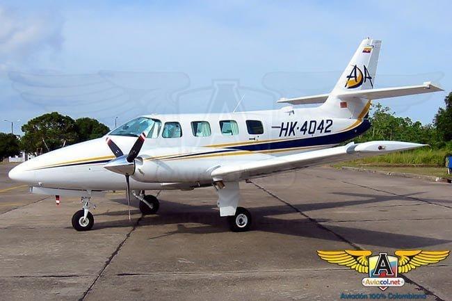 Cessna T303 Crussader de ADA | Aviacol.net El Portal de la Aviación Colombiana