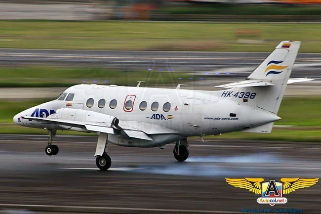 Jetstream de ADA | Aviacol.net El Portal de la Aviación Colombiana