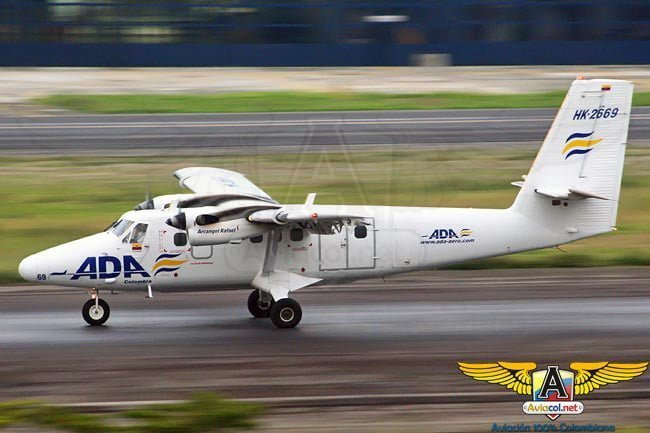 Twin Otter de ADA | Aviacol.net El Portal de la Aviación Colombiana