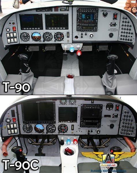 El T-90C Calima, la más reciente versión del nuevo avión de entrenamiento para la FAC   Aviacol.net El Portal de la Aviación Colombiana
