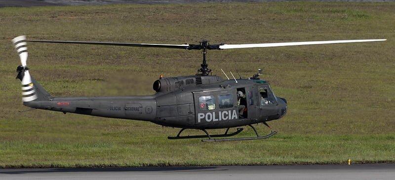 Helicóptero Policía Nacional de Colombia
