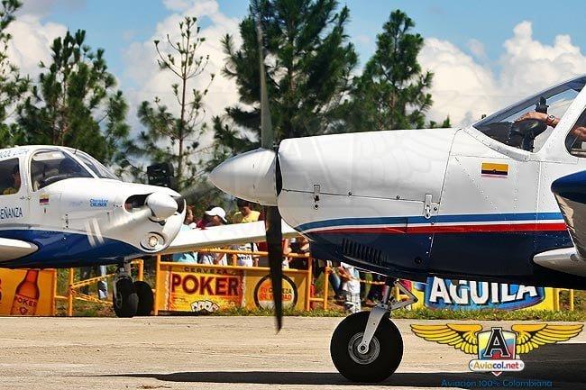 Primer Festival Aéreo Civil, Turístico y Deportivo en San Gil | Aviacol.net El Portal de la Aviación Colombiana