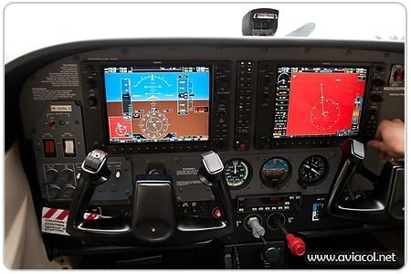 Cesnna 172 Garmin G1000 - Aviacol.net