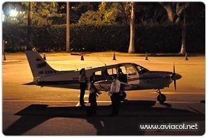 Entrenamiento Nocturno - Aviacol.net