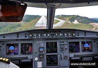 Curso de Piloto Comercial - Cabina Airbus 320