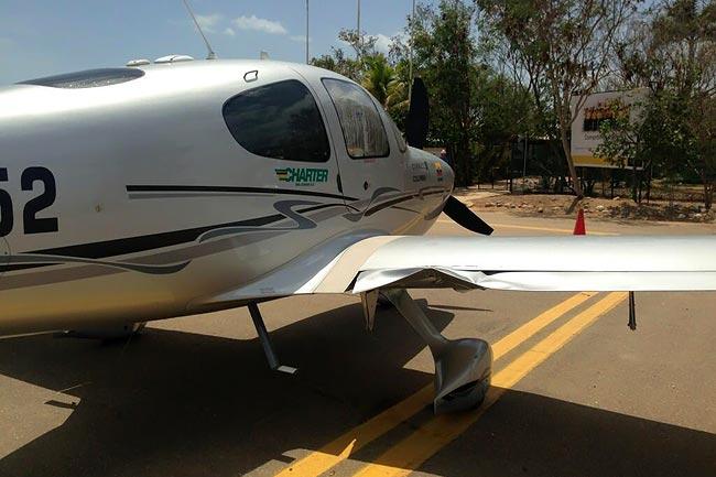 Dos aeronaves Cirrus SR-22 colisionan en medio del aire en la Guajira | Aviacol.net El Portal de la Aviación Colombiana