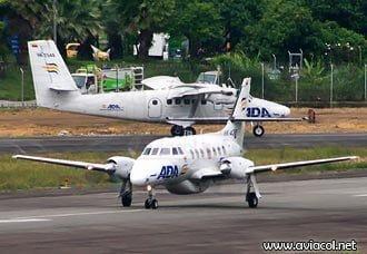 ADA suspende indefinidamente ruta Medellín – Capurganá y reaunda operación en Condoto | Aviacol.net El Portal de la Aviación Colombiana