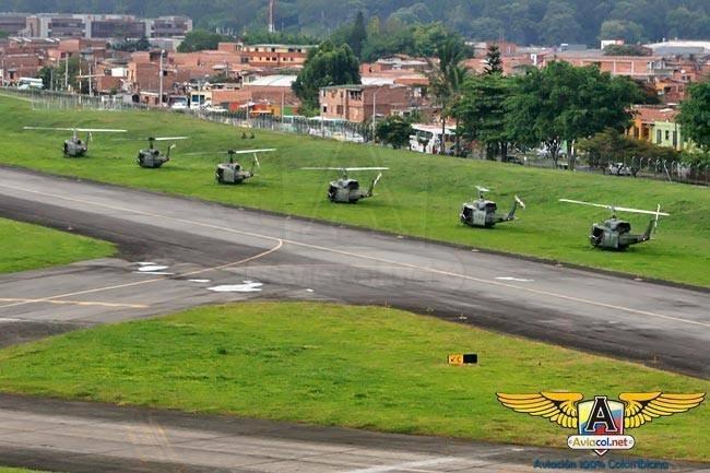 Desfile aéreo de la Aviación del Ejército sobre Medellín | Aviacol.net El Portal de la Aviación Colombiana