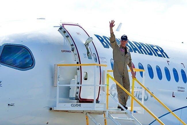 Primer avión de la familia CSeries de Bombardier completa primer vuelo | Aviacol.net El Portal de la Aviación Colombiana