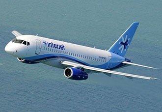 Aerolínea mexicana Interjet pone en servicio los primeros dos Sukhoi Superjet 100   Aviacol.net El Portal de la Aviación Colombiana