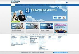 Amadeus presenta en Colombia su nuevo sitio web local   Aviacol.net El Portal de la Aviación Colombiana
