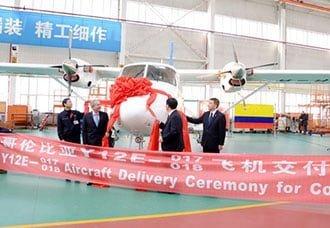 Satena recibe oficialmente dos Harbin Y-12E   Aviacol.net El Portal de la Aviación Colombiana