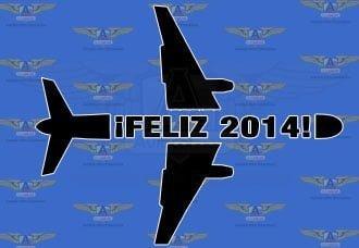 Feliz año nuevo 2014 | Aviacol.net El Portal de la Aviación Colombiana
