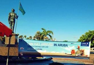 LAN inicia operaciones a Aruba desde Colombia | Aviacol.net El Portal de la Aviación Colombiana