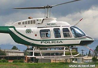 Helicóptero de la Policía es destruido por artefacto explosivo   Aviacol.net El Portal de la Aviación Colombiana