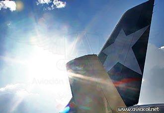 LAN transportó 4,2 millones de pasajeros en Colombia en 2013   Aviacol.net El Portal de la Aviación Colombiana