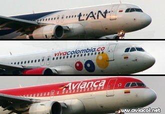 Hacia dónde están mirando algunas aerolíneas colombianas   Aviacol.net El Portal de la Aviación Colombiana