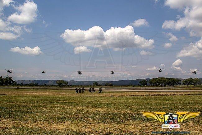 Exhibición aérea de la Aviación del Ejército Nacional de Colombia | Aviacol.net El Portal de la Aviación Colombiana