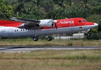Avianca suspende temporalmente operación de equipo Fokker 50   Aviacol.net El Portal de la Aviación Colombiana