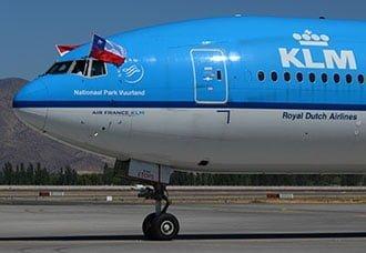 KLM comenzó a operar ruta a Santiago de Chile   Aviacol.net El Portal de la Aviación Colombiana