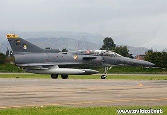 Avión Kfir de la FAC se accidentó en Caldas | Aviacol.net El Portal de la Aviación Colombiana