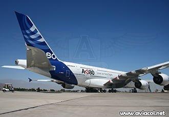 Público general podrá subir al A380 en FIDAE 2014 | Aviacol.net El Portal de la Aviación Colombiana