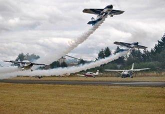 Escuadrilla argentina de acrobacia Hangar del Cielo se presentará en FIDAE 2014   Aviacol.net El Portal de la Aviación Colombiana
