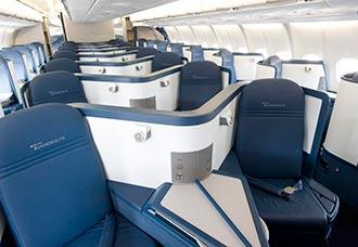 Delta, única aerolínea de los EE.UU. que ofrece asientos cama con acceso directo a pasillo | Aviacol.net El Portal de la Aviación Colombiana